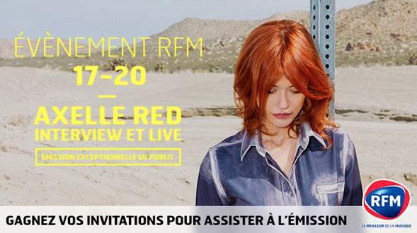 Axelle Red en live sur RFM