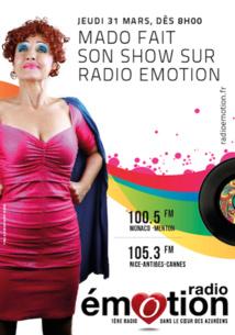"""""""Mado la Niçoise"""" sur Radio Émotion"""