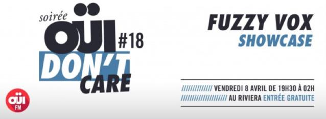 Fuzzy Vox en showcase sur Oui FM
