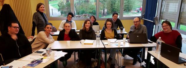 Les stagiaires de la formation 2015 à Guichen