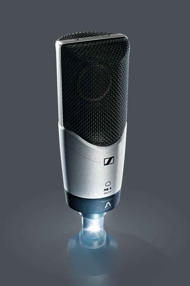 Le MK4 et sa version numérique d'un de ses microphones phares