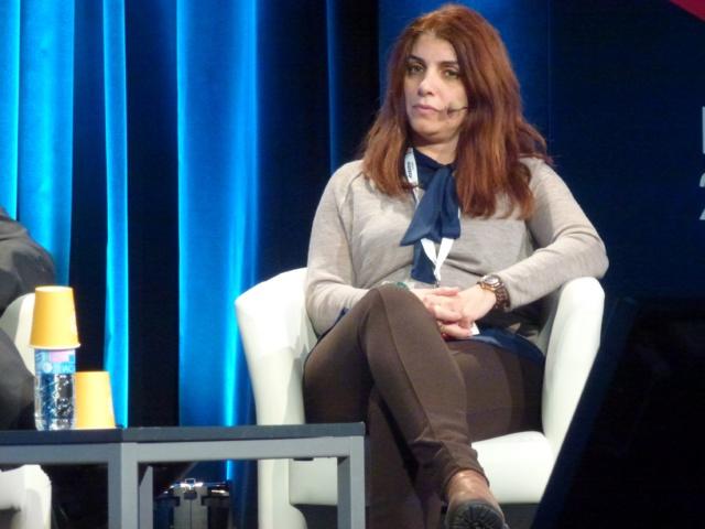 Lina Chawaf, invitée des Radiodays 2016 à Paris © Brice Vidal