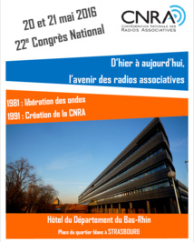 La CNRA fêtera ses 25 ans à Strasbourg