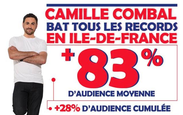 Paris : Camille Combal la locomotive de Virgin Radio