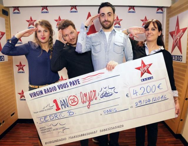 177 662 euros offerts sur Virgin Radio
