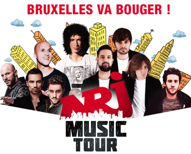 NRJ Music Tour fait étape à Bruxelles