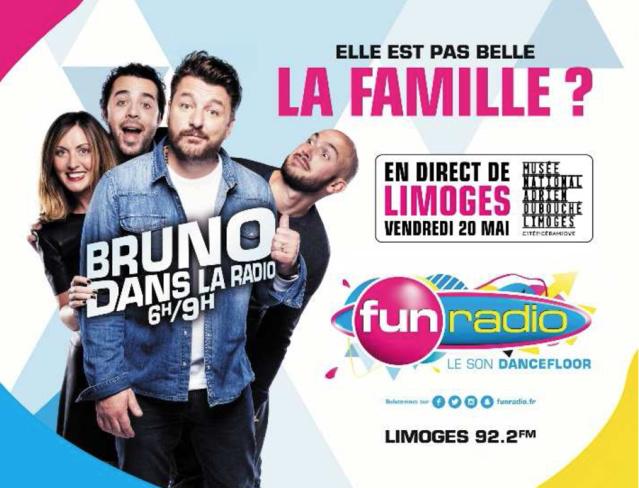 Fun Radio : la matinale s'installe à... Limoges
