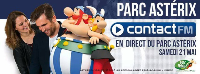 Contact FM en direct du Parc Astérix