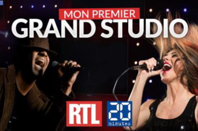 """Des gagnants pour """"Mon premier Grand Studio RTL"""""""