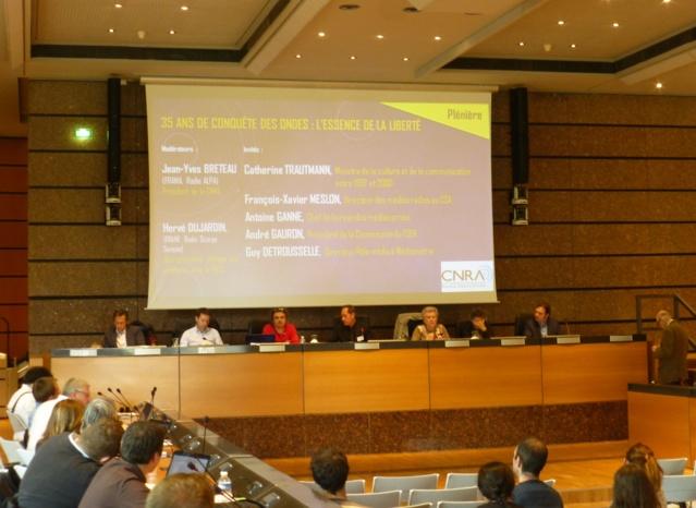 Le congrès de la CNRA a eu lieu à l'Hôtel du Département du Bas-Rhin à Strasbourg. © Frédérik Stiefenhofer