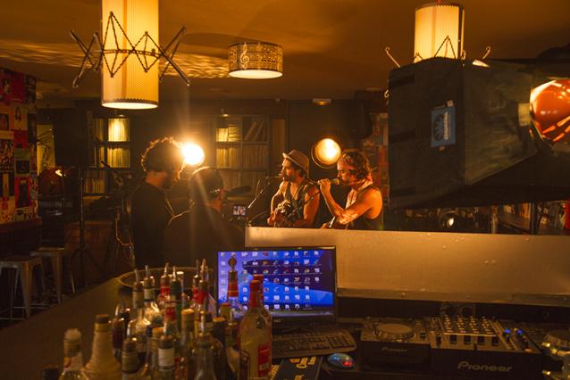 Fréro Delavega en concert privé au Radio City Café. © Crédits photo RCC.