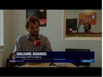 Guillaume Desanges, le directeur de la station, interviewé par France 3.