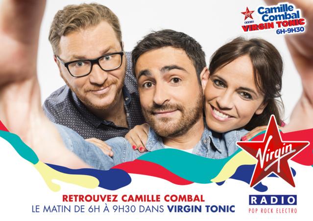 Camille Combal resigne une saison sur Virgin Radio