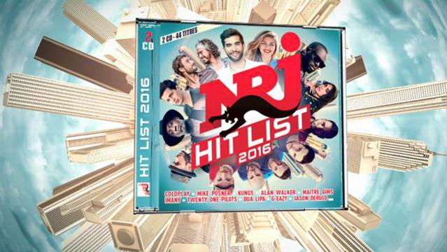 NRJ Hit List 2016 numéro 1 des ventes de compilations