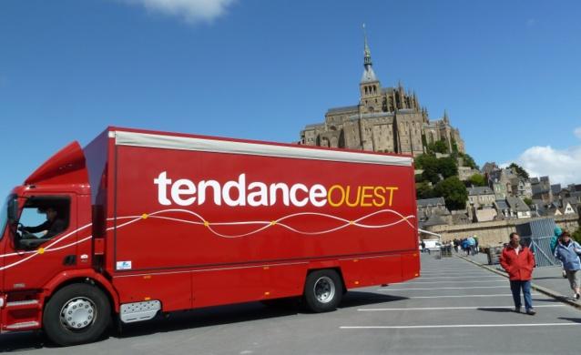 Le Mont-Saint-Michel à l'honneur pour le Grand Départ du Tour de France 2016 © Tendance Ouest - JBB - tous droits réservés