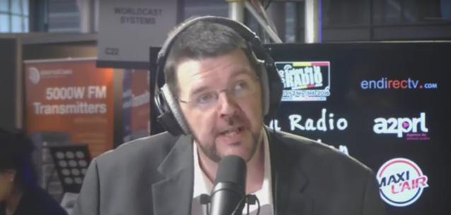 Le sympathique Joël Habay, ici au Salon de la Radio 2016, exerçait jusqu'à présent les fonctions de directeur des programmes de Nostalgie Belgique et de Chérie FM