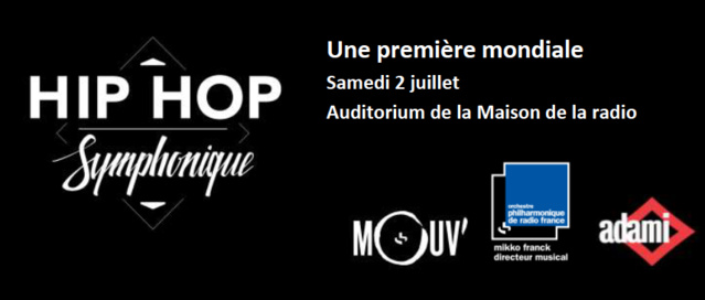 """Un """"Hip Hop Symphonique"""" pour Mouv'"""