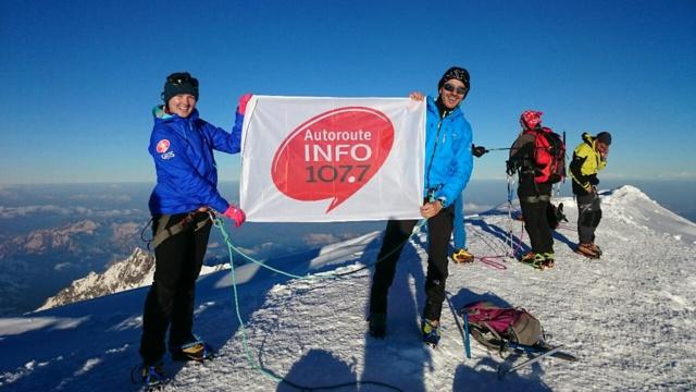 Vendredi 24 juin à 6h40, deux journalistes de la rédaction ont réussi l'ascension du Mont-Blanc