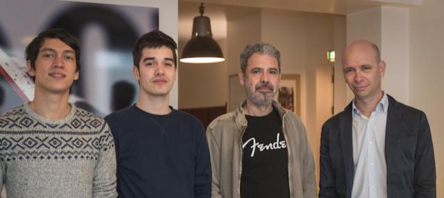 Raphaël Nauleau, Julien Cavard, Philippe Zech et éric Renard : une équipe fraîche et expérimentée