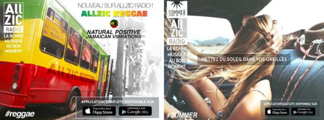 Deux nouvelles radios disponibles sur Allzic Radio