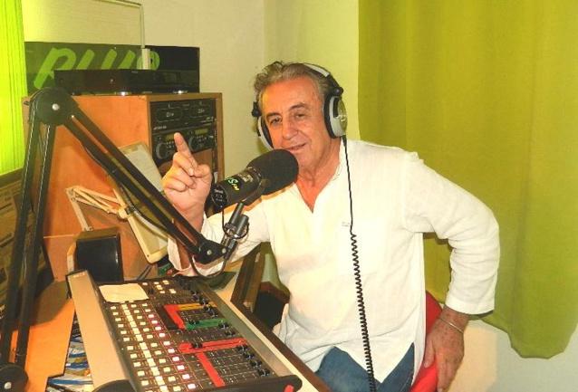 Bernard Colomb, infatigable président de Plus FM Réunion.