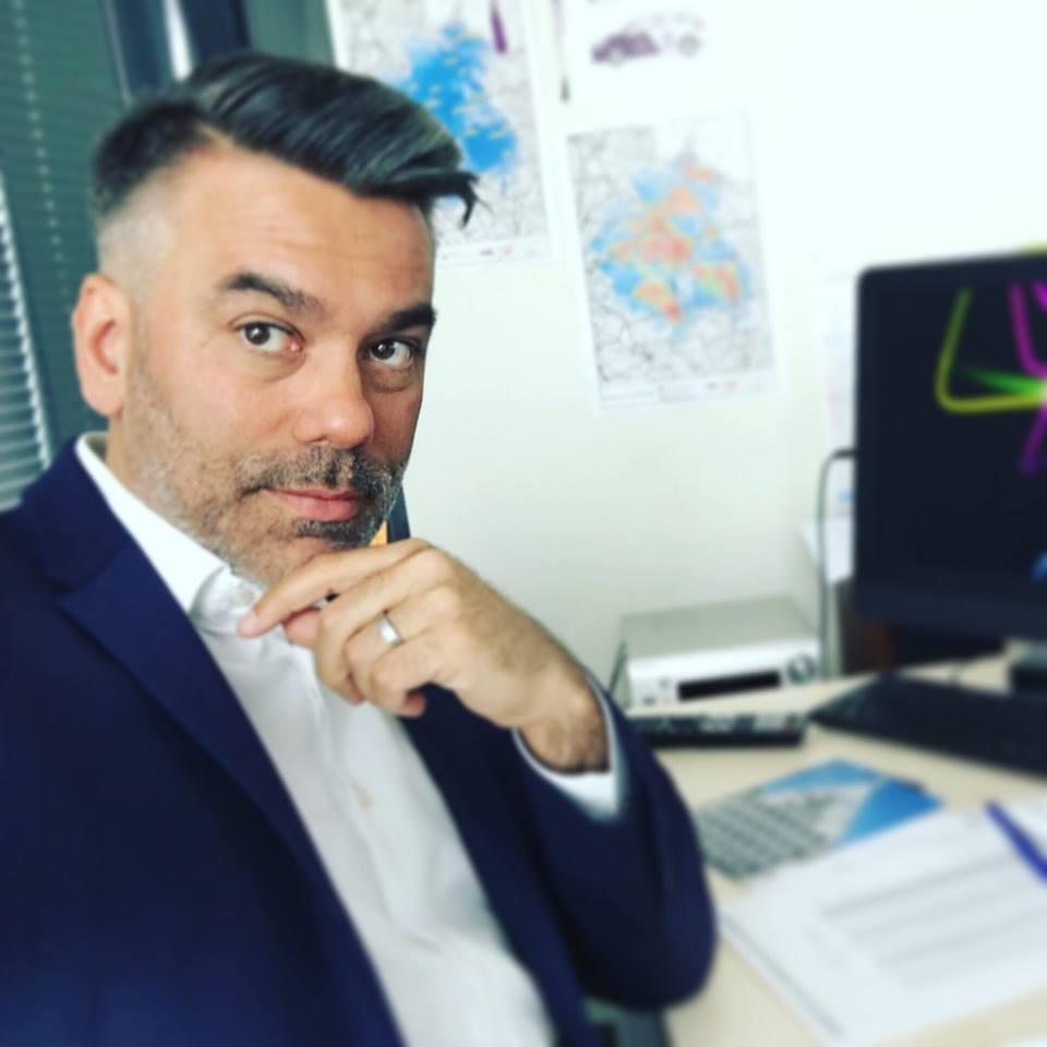 Jérôme Delaveau, directeur général délégué de Champagne FM développe également Happy FM