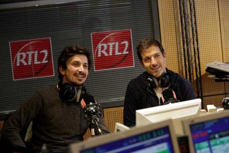 """Un nouveau Morning """"Le Double Expresso RTL2"""" du lundi au vendredi de 6h à 9h présenté par Arnaud Tsamère et Grégory Ascher"""