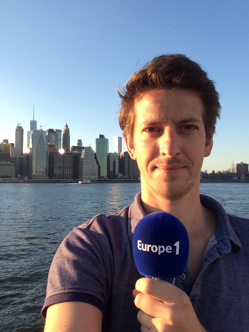 Xavier Yvon, correspondant d'Europe 1 aux Etats-Unis