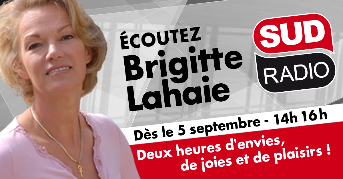 Brigitte Lahaie recrutée par Sud Radio