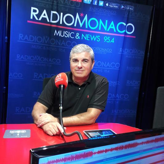 Jean-Christophe Dimino est le directeur des programmes et de l'information de Radio Monaco