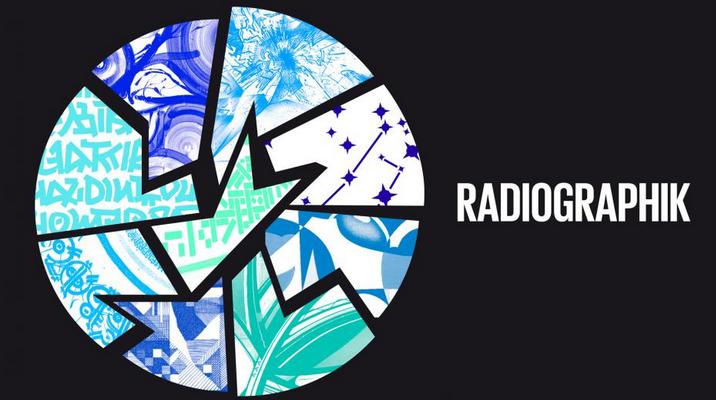 Radiographik : une fresque à la Maison de la radio