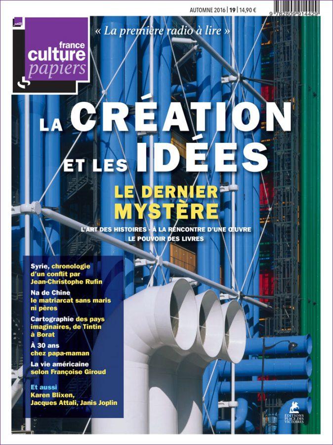 Parution de France Culture Papiers
