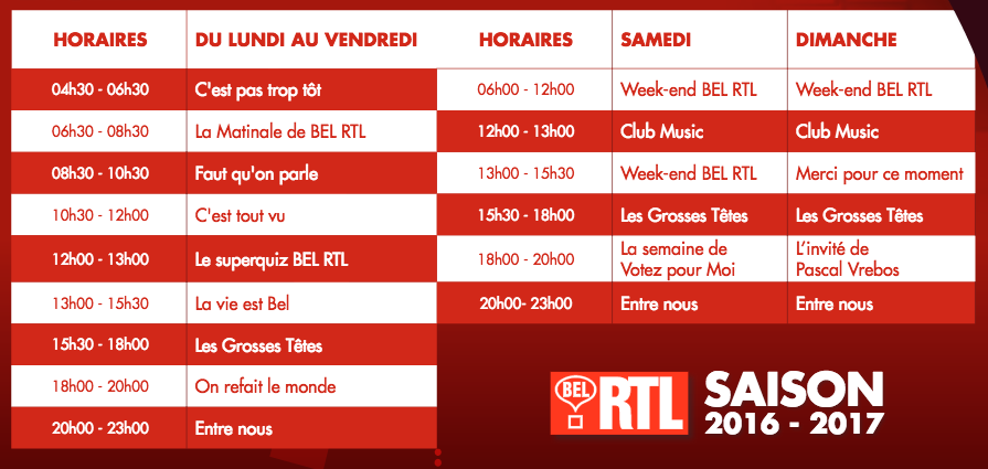 Bel RTL a fait sa rentrée