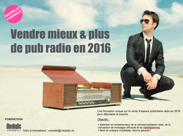 Vendre mieux et plus de pub radio