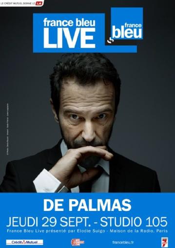 Un France Bleu Live avec De Palmas