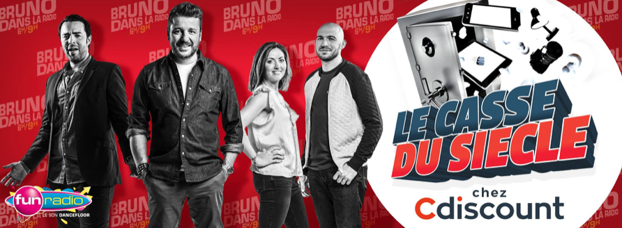 Cdiscount invite des auditeurs de Fun Radio à dévaliser ses stocks