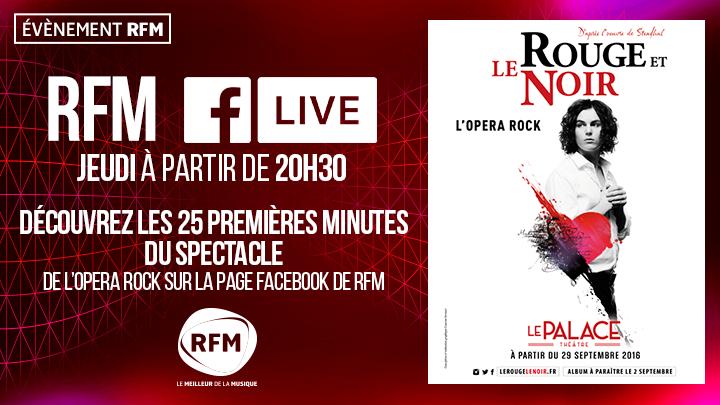 RFM diffuse un spectacle en Facebook Live
