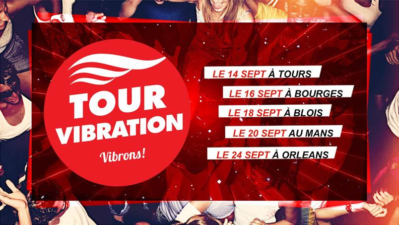 "57 000 auditeurs au ""Tour Vibration"""