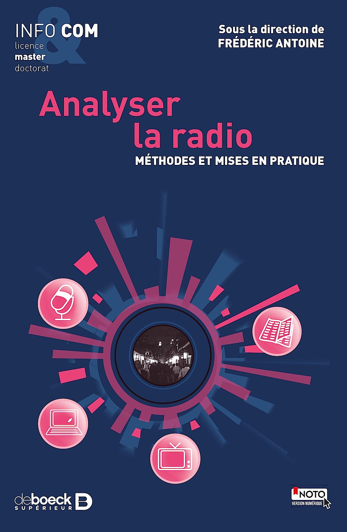 "Parution du livre ""Analyser la radio"""