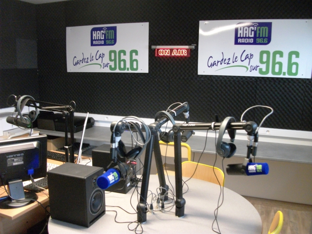 Le nouveau studio de production de HAG'FM se positionne aussi comme un outil pédégogique
