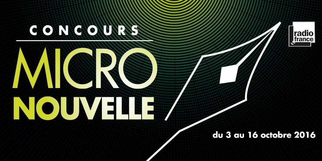 Concours de la micronouvelle de Radio France