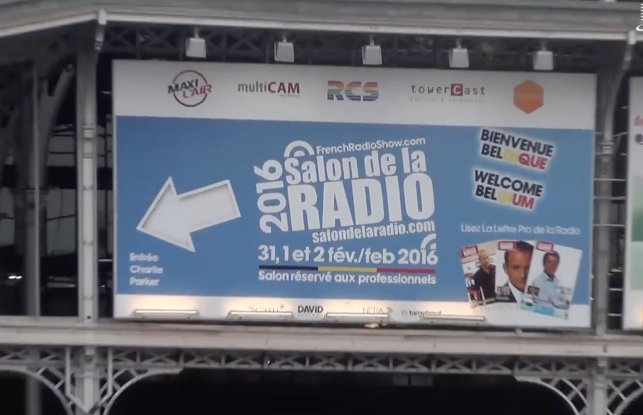 Un site en anglais pour le salon de la radio 2017 for Salon de la radio 2017