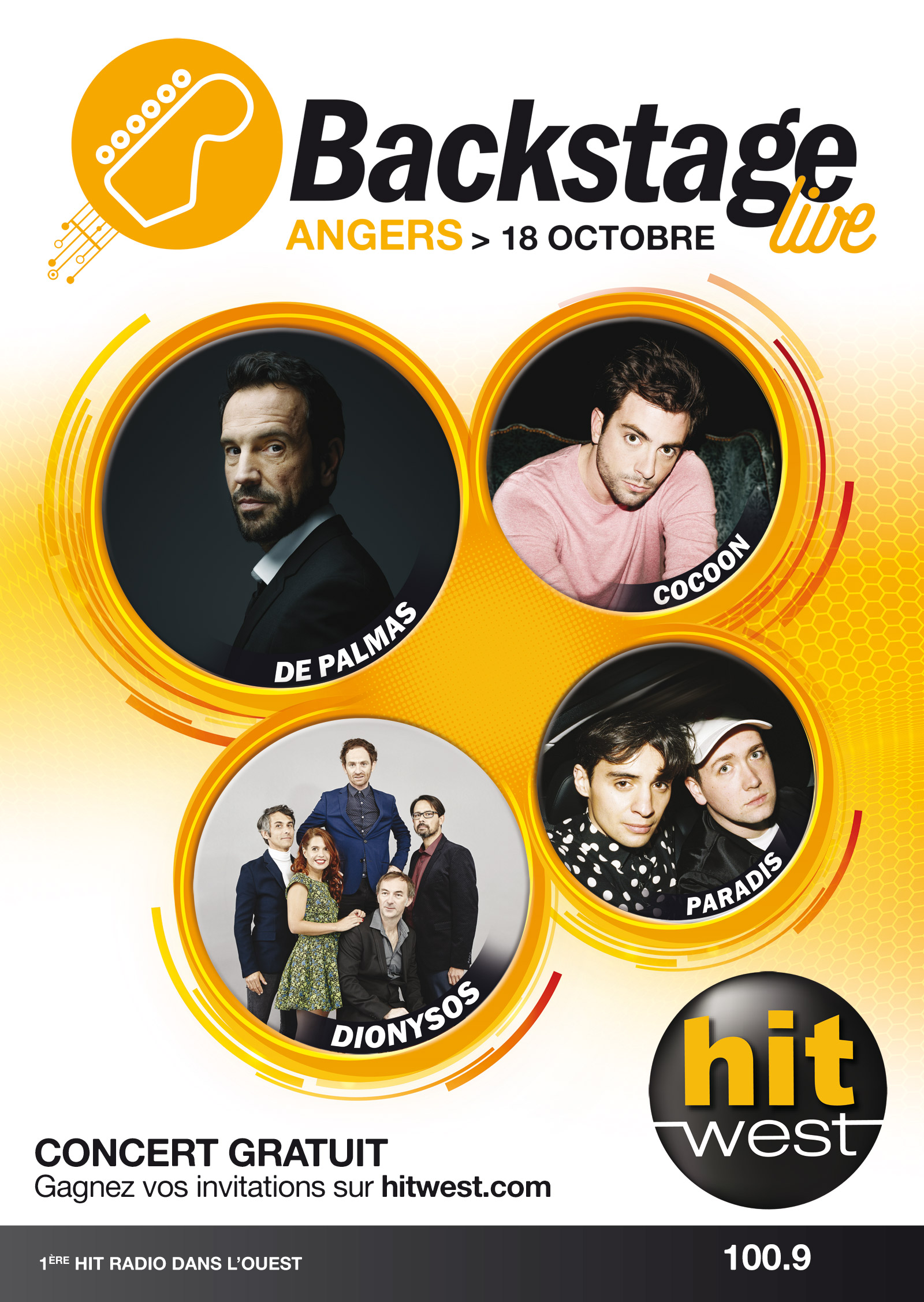 Hit West : un Backstage Live à Angers