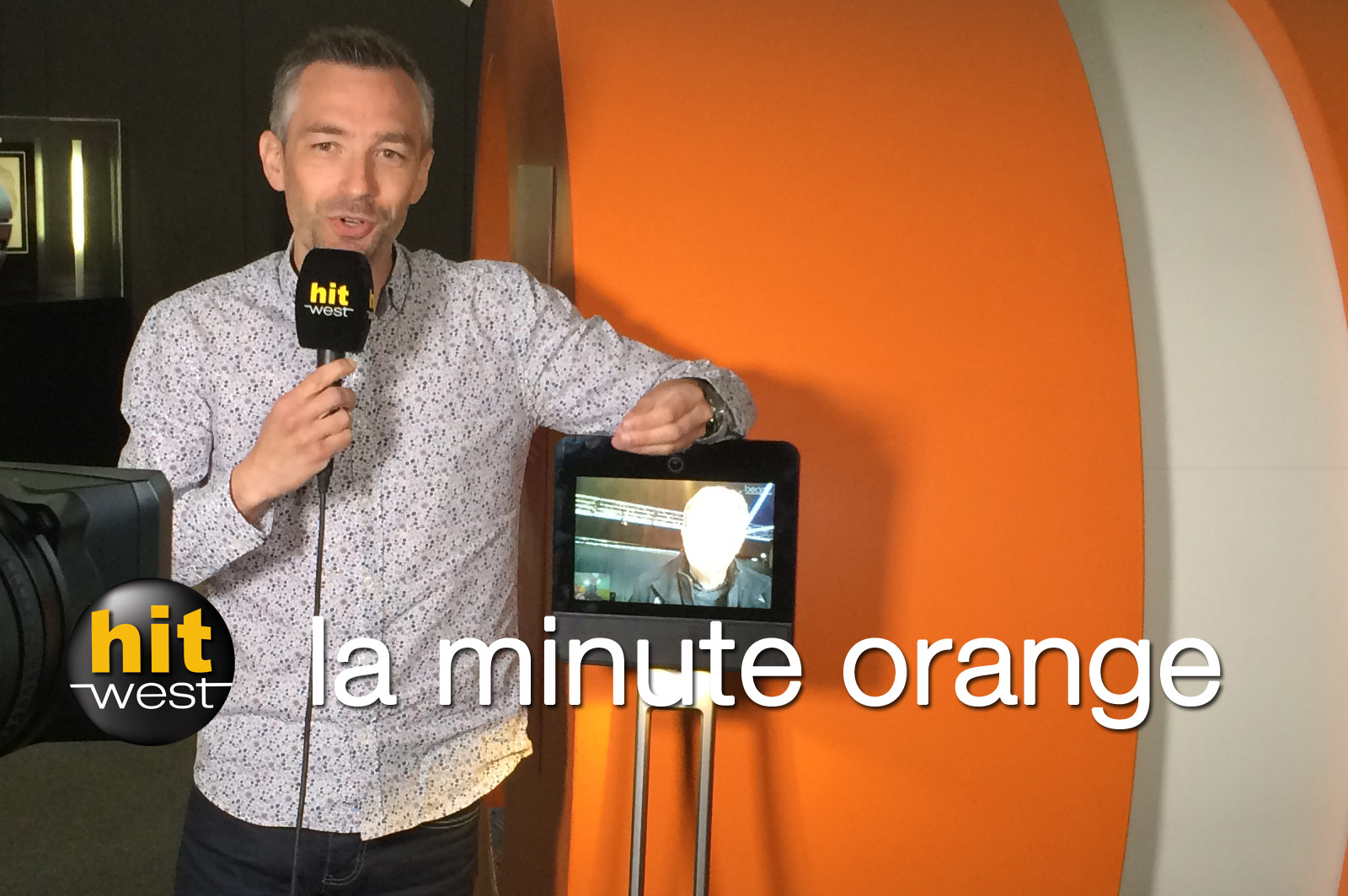"""La Minute Orange"" sur Hit West"