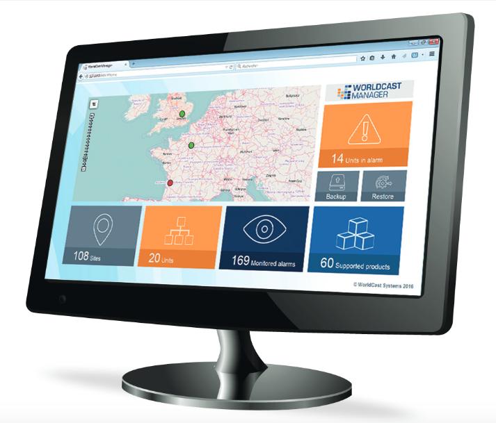 Le WorldCast Manager est un outil de surveillance SNMP compatible avec tout équipement supportant le protocole SNMP