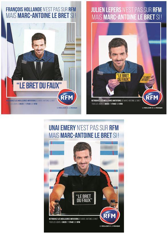 Nouvelle campagne de communication de RFM