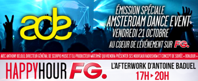 Radio FG en direct d'Amsterdam