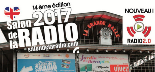 Venez exposer au salon de la radio 2017 for Salon de la radio 2017