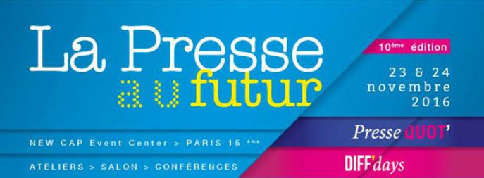 Le GESTE partenaire du salon La Presse au Futur 2016