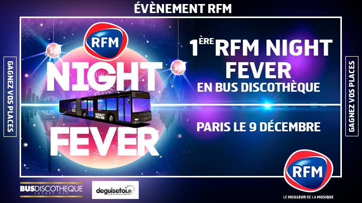 """Une soirée """"RFM Night Fever"""" dans... un bus"""